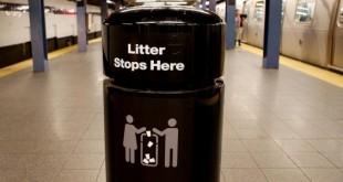 MTA Trash Can