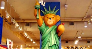 Build-A-Bear New York City Statua della Libertà