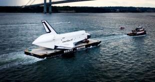 Lo Shuttle va in pensione salutando New York