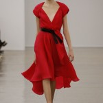New York Fashion Week 2013 - Vestito rosso