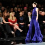 New York Fashion Week 2013 - Vestito blu
