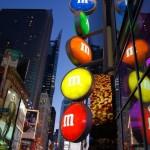 M&M's World New York Sign