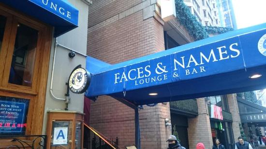 Faces and Names - New York