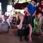 Times Square Curiosity atterra su Marte 3