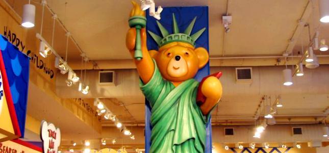 Build-A-Bear New York City Statua della Libertà