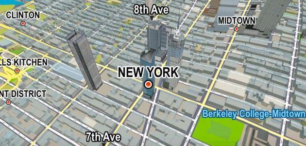 Navigatore GPS in USA