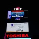 Maxi-schermo Times Square, atterraggio Curiosity