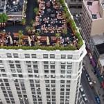 Tetto di New York con giardino 1