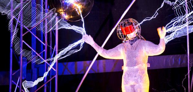 David Blaine electro-experiment