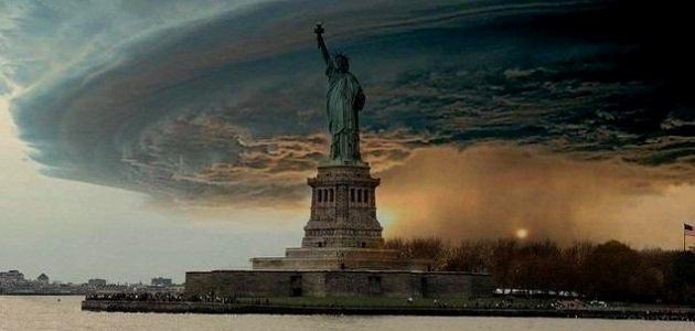 New York City Uragano Sandy