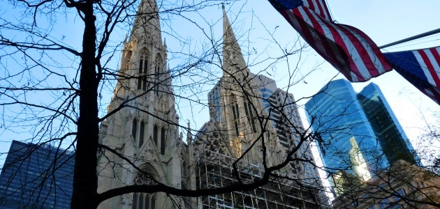 New York tra chiese, cattredali e sinagoghe